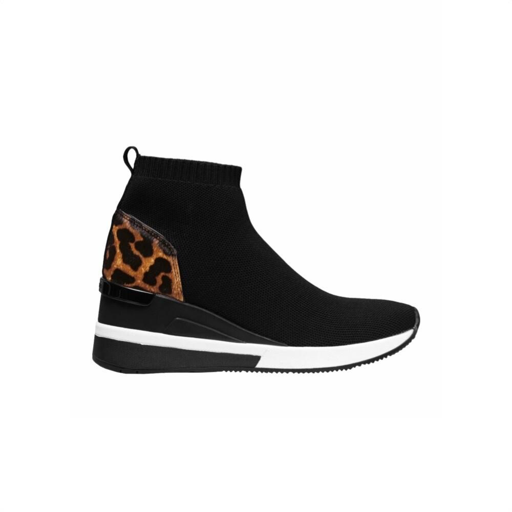 MICHAEL KORS - Skyler Sneakers stretch - Black