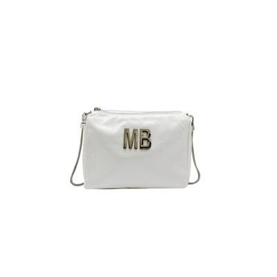 MIA BAG - Tracollina Patent Naplack - Bianco