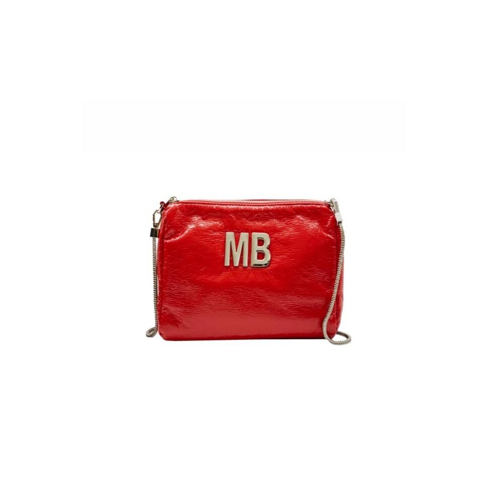 MIA BAG - Tracollina Patent Naplack - Rosso