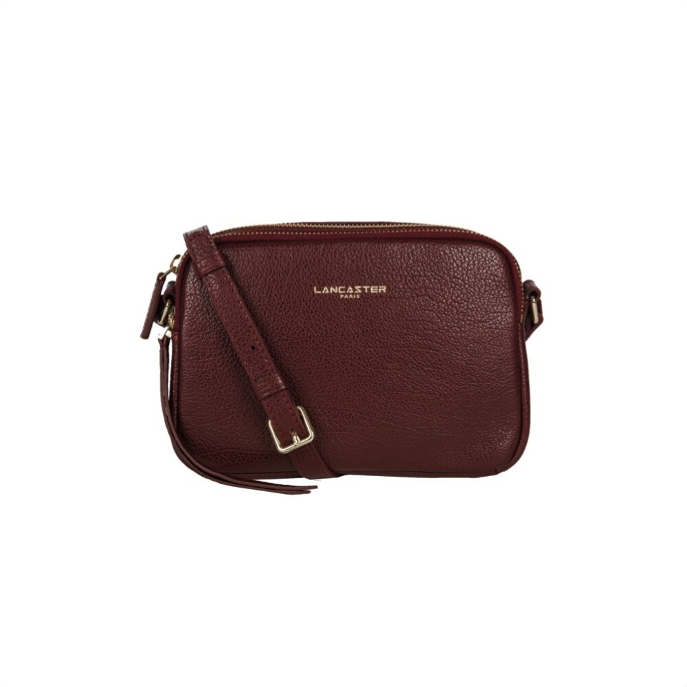 LANCASTER - Dune Mini clutch - Bordeaux