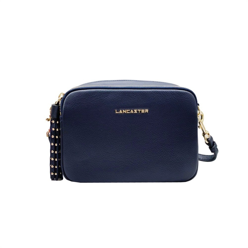 LANCASTER - Ana&Annae Small Crossbody bag - Bleu Fonce