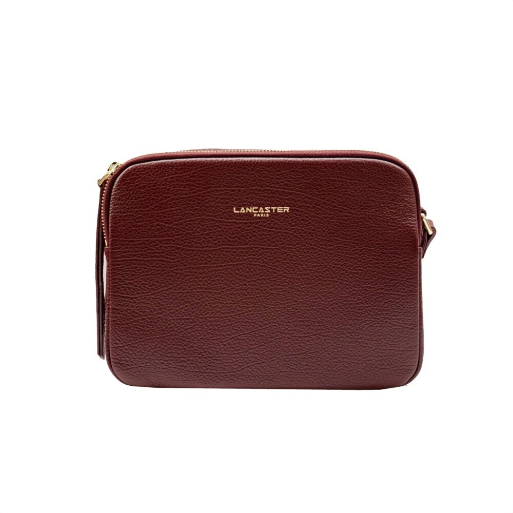 LANCASTER - Dune Large Crossbody Bag - Bordeaux