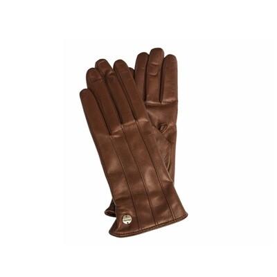 COCCINELLE - Clara guanti in pelle - Brule