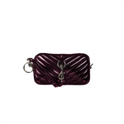 REBECCA MINKOFF - Camera Belt Bag Naplack - Pinot Noir