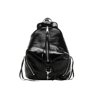 REBECCA MINKOFF - Julian Medium Backpack Naplack - Black