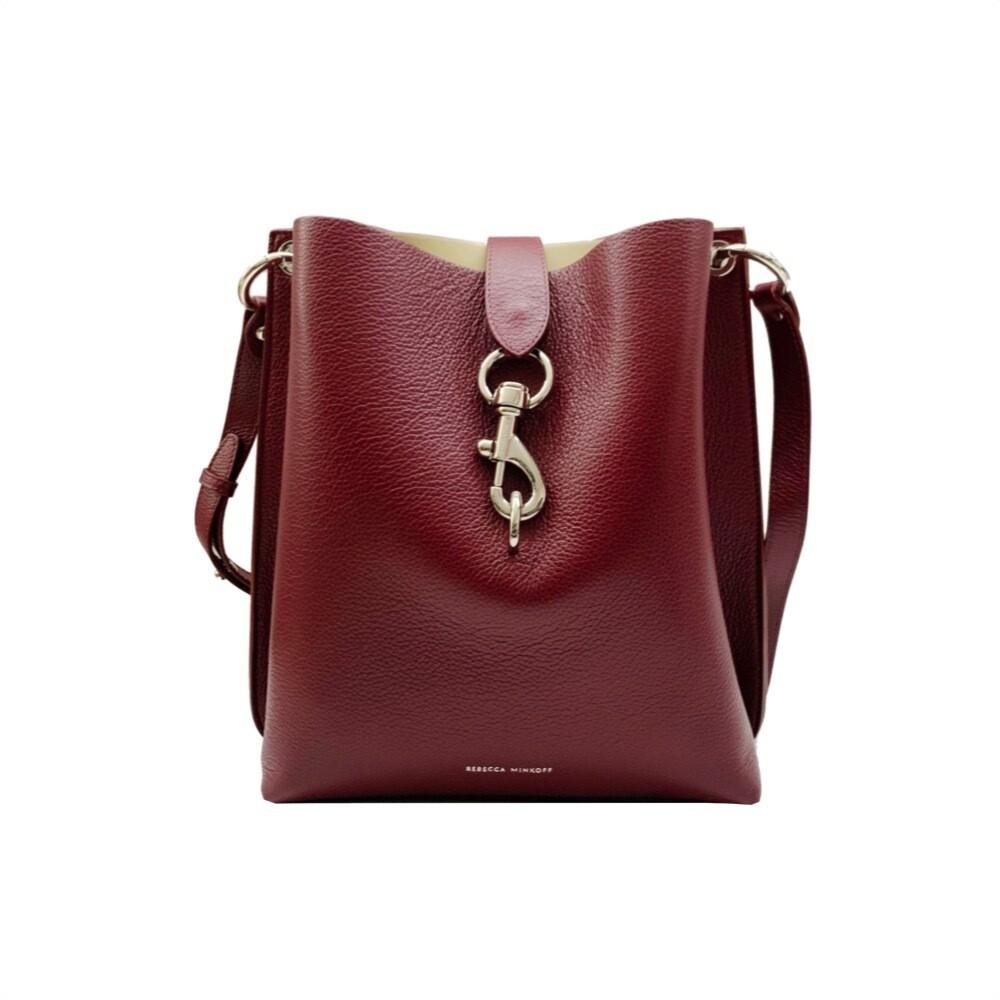 REBECCA MINKOFF - Meghan Shoulder Bag  - Pinot Nero