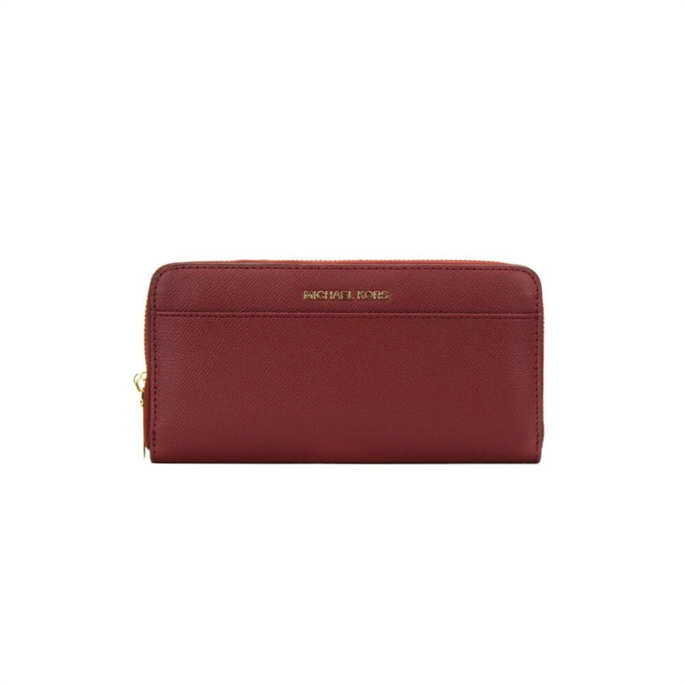 MICHAEL KORS - Jet Set Pocket ZA Continental - Brandy