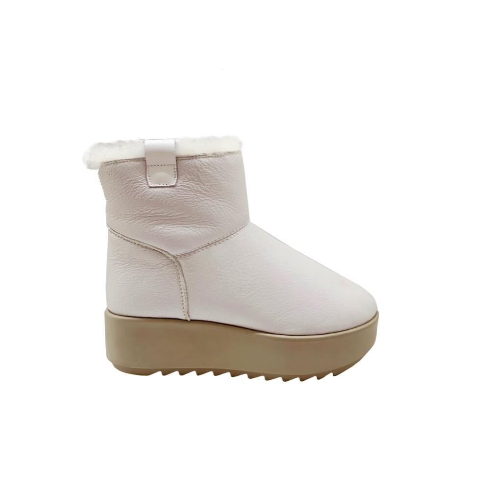 HOOR - Cortina Leather - White