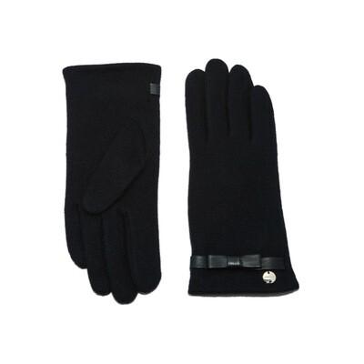 COCCINELLE - Valerie guanti lana - Noir
