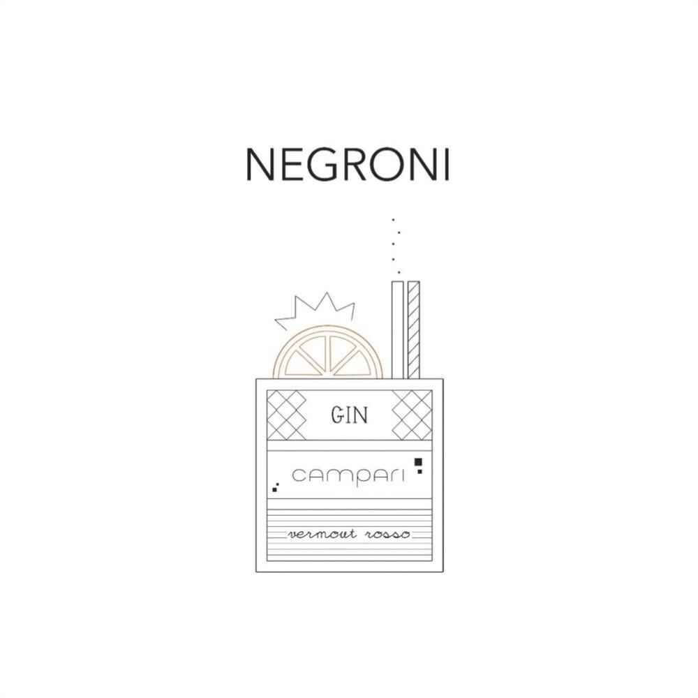 T-SHOT - T-shirt Negroni - White