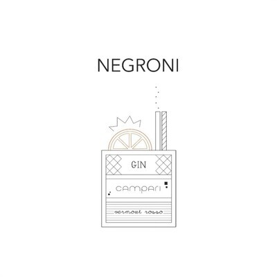 T-SHOT - T-shirt Negroni - White