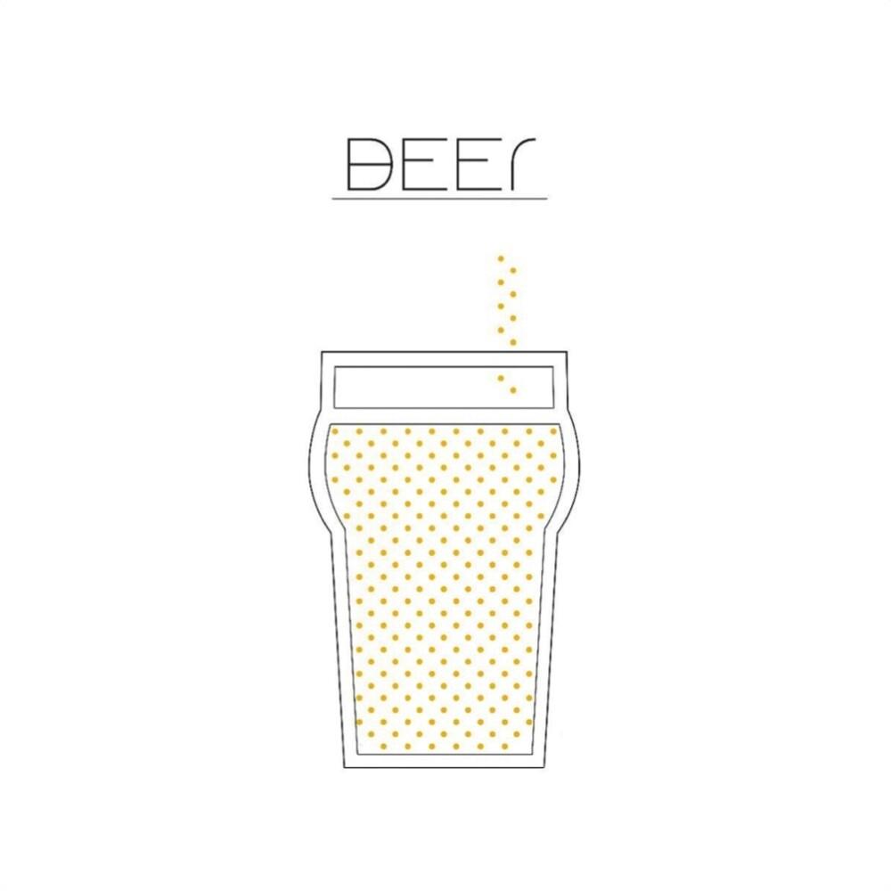 T-SHOT - T-shirt Beer - White
