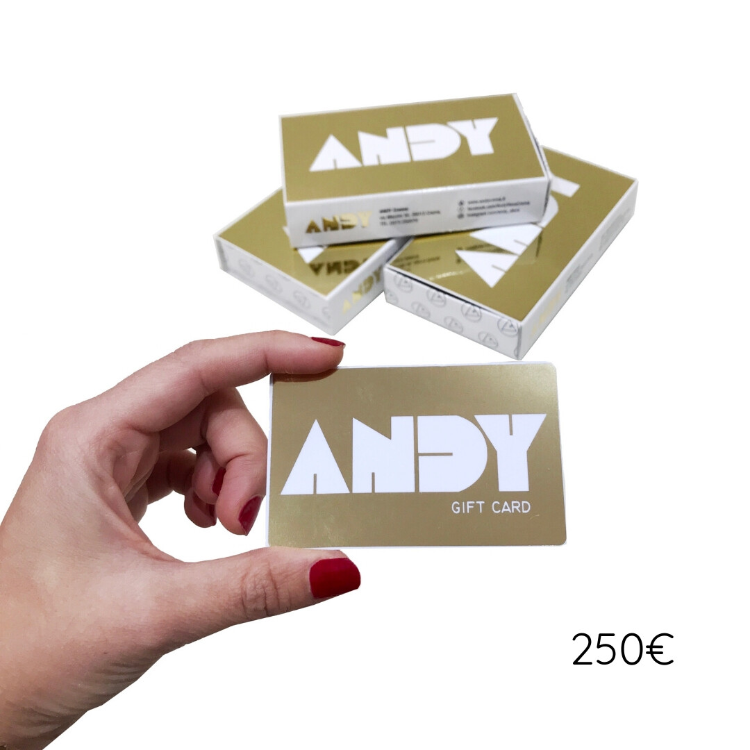 ANDY - Gift Card [250€]