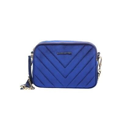 LANCASTER - Actual Velvet Couture Crossbody Bag - Bleuroi