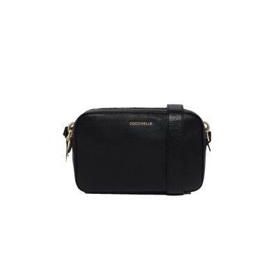 COCCINELLE - Alpha Camera Bag - Noir