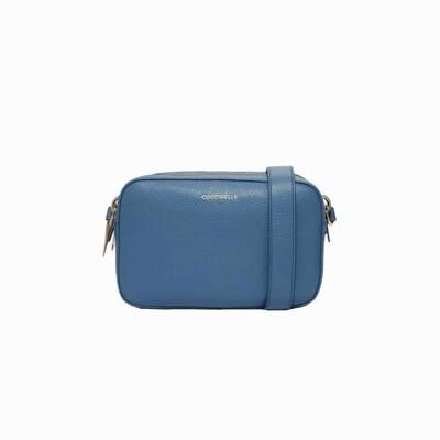 COCCINELLE - Alpha Camera Bag - Denim