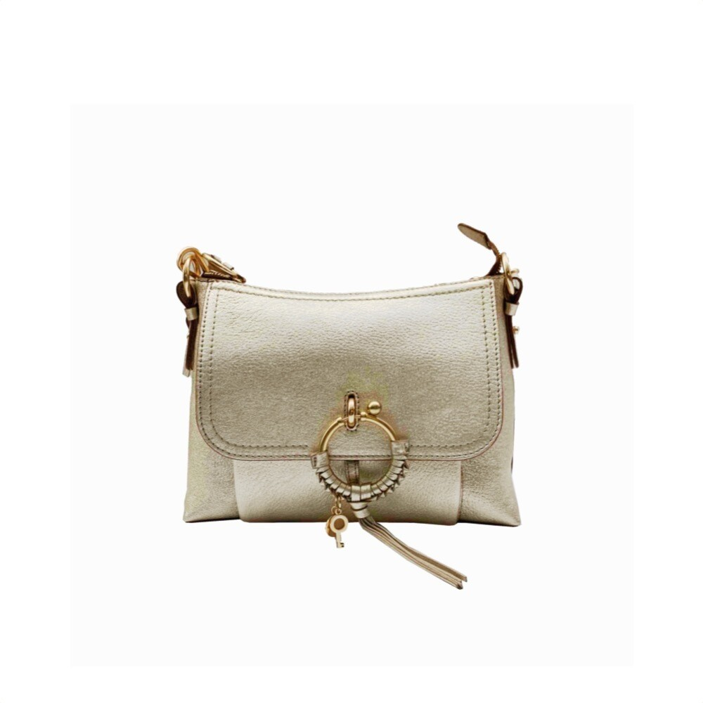SEE BY CHLOÉ - Joan Small Shoulder Bag - Silver