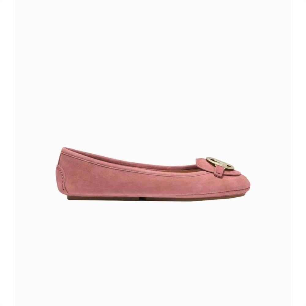 MICHAEL KORS - Lillie Moc Mocassino in suede - Sunset Peach