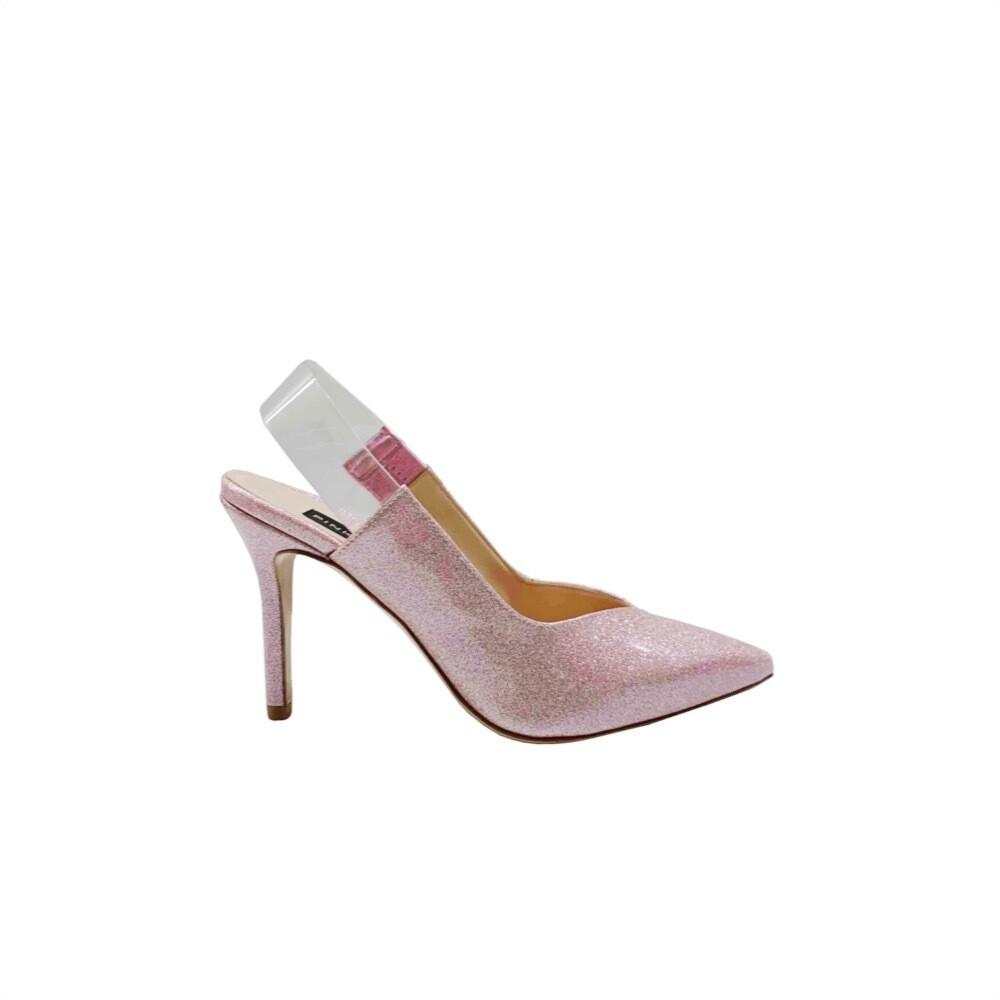 PINKO - Anice Verde Décolleté glitter - Light Pink