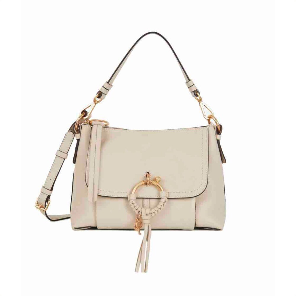 SEE BY CHLOÉ - Joan Small Shoulder Bag - Cement Beige