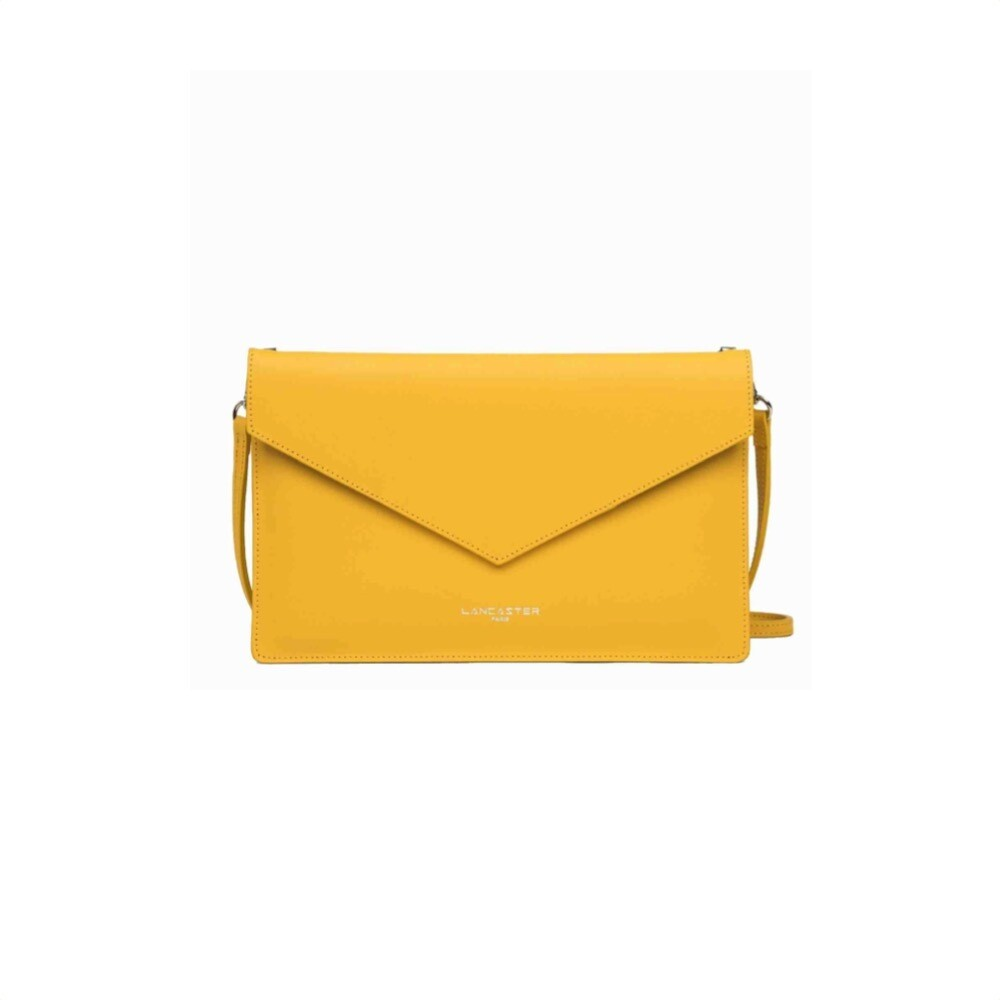 LANCASTER - City Americanino Double Clutch Air - Jaune in Camel