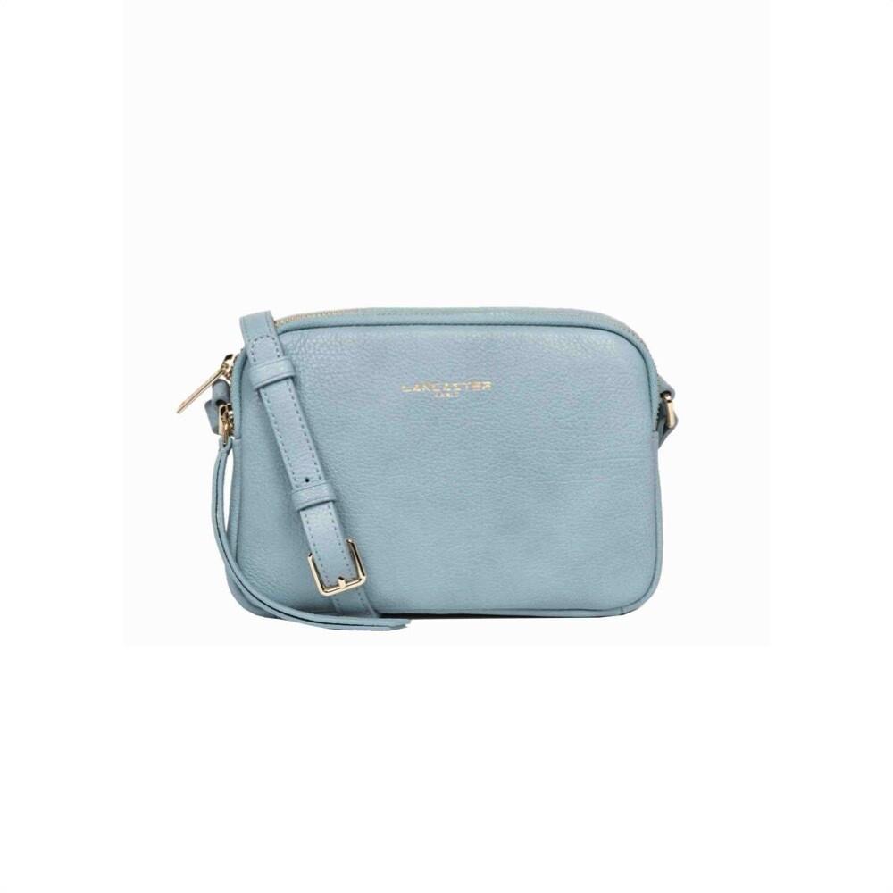LANCASTER - Dune Mini Crossbody Bag - Bleu Cendre