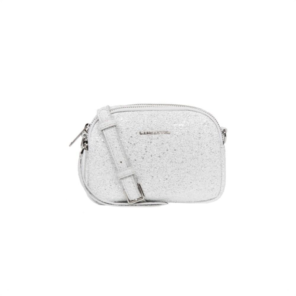 LANCASTER - Mini crossbody bag - Argent