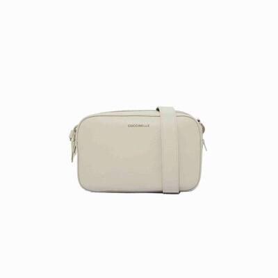 COCCINELLE - Alpha Camera Bag - Chalk