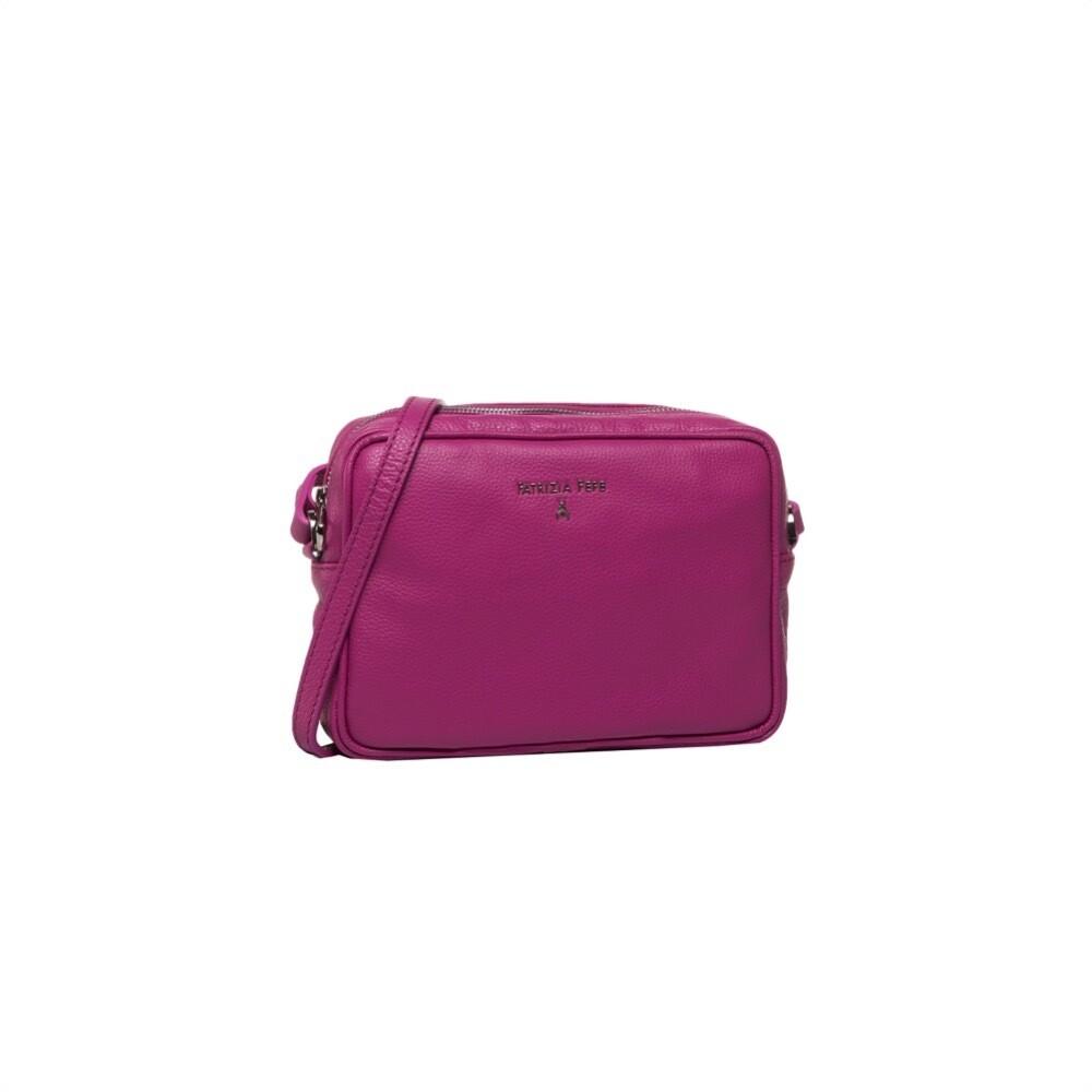 PATRIZIA PEPE - Camera Bag in pelle - Very Berry