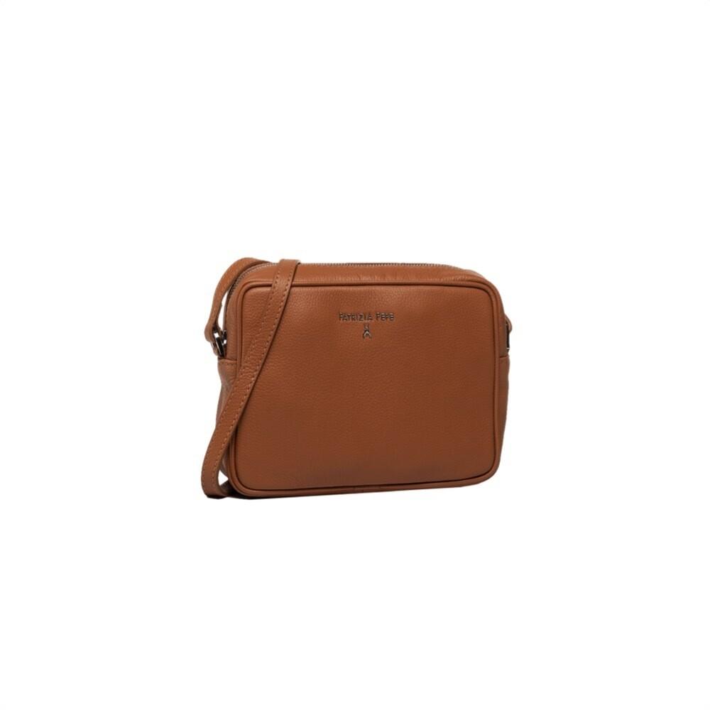 PATRIZIA PEPE - Camera Bag in pelle - Cuoio