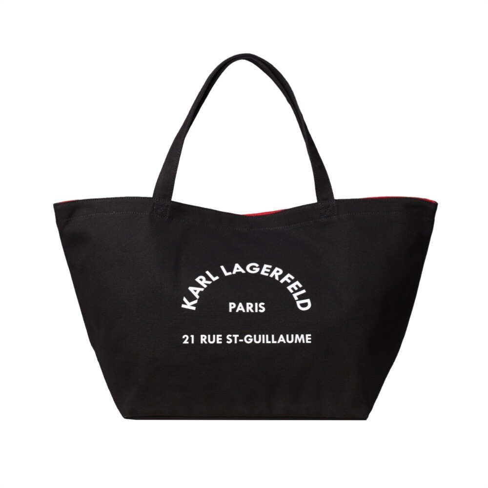 KARL LAGERFELD - Rue St-Guillaume Tote - Black