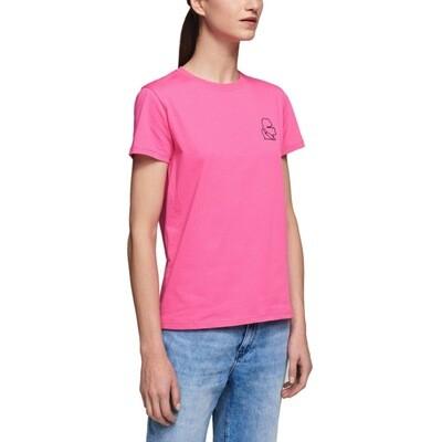 KARL LAGERFELD - T-Shirt Karl Mini Kameo - Bright Pink
