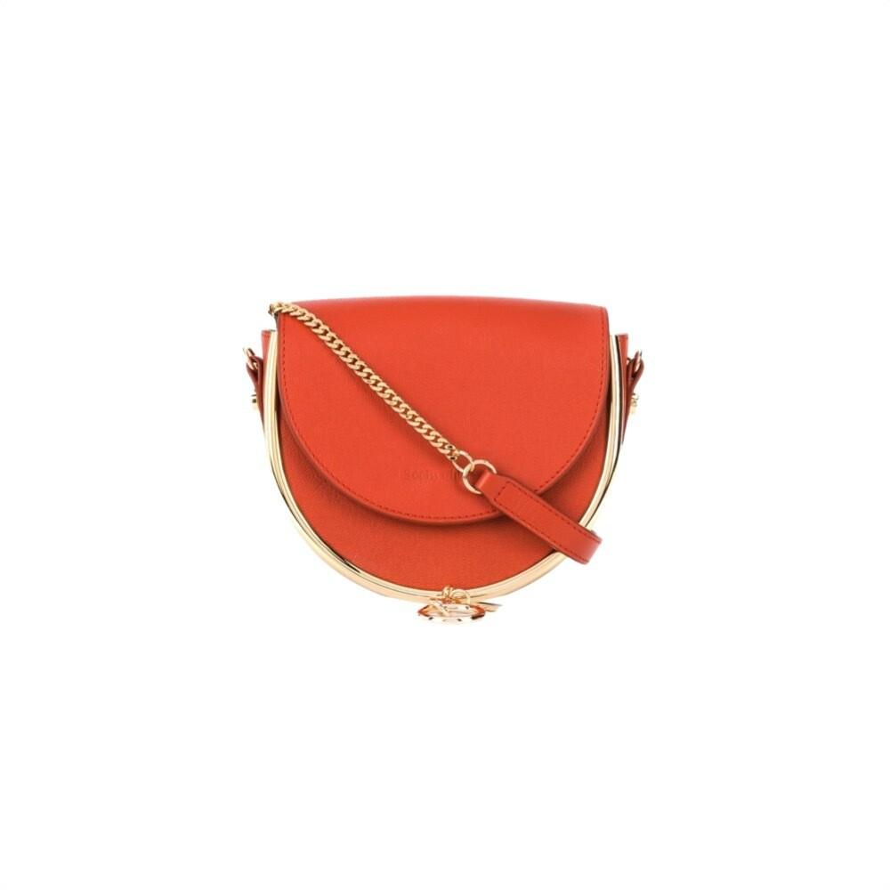 SEE BY CHLOÉ - Mara Mini Crossbody Bag - Brick Red