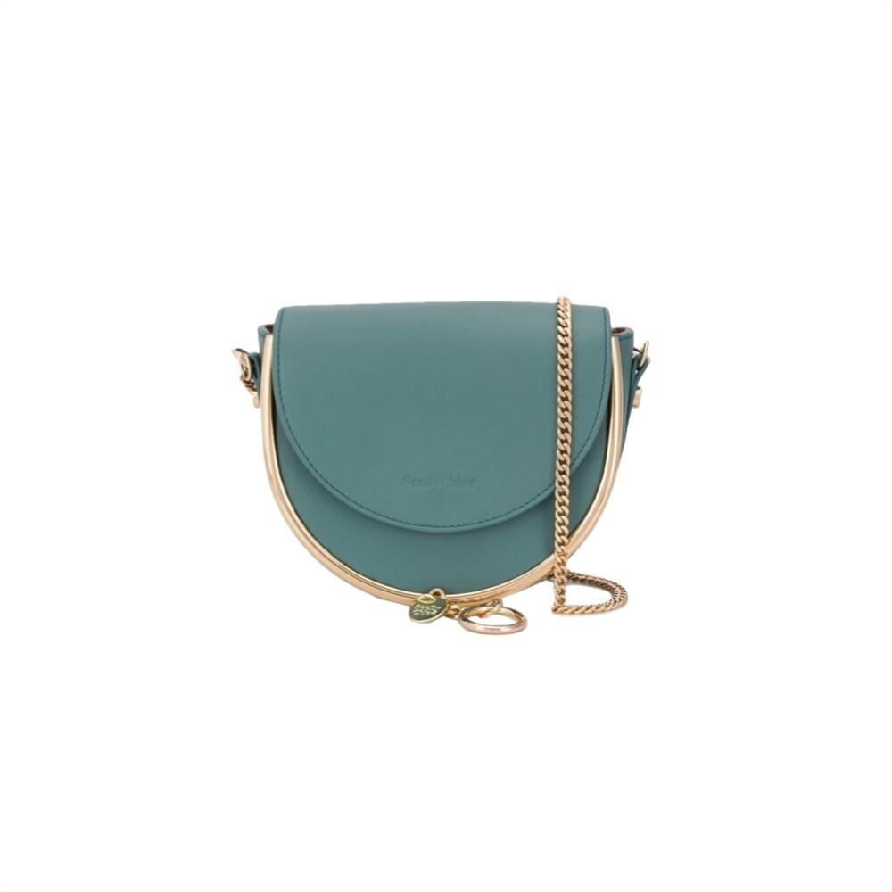 SEE BY CHLOÉ - Mara Mini Crossbody Bag - Mineral Blue