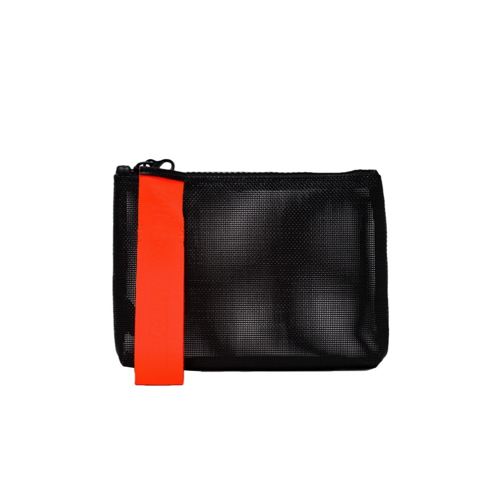 GUM - Numbers All You Need Is Beach Pochette M - Nero/Arancio