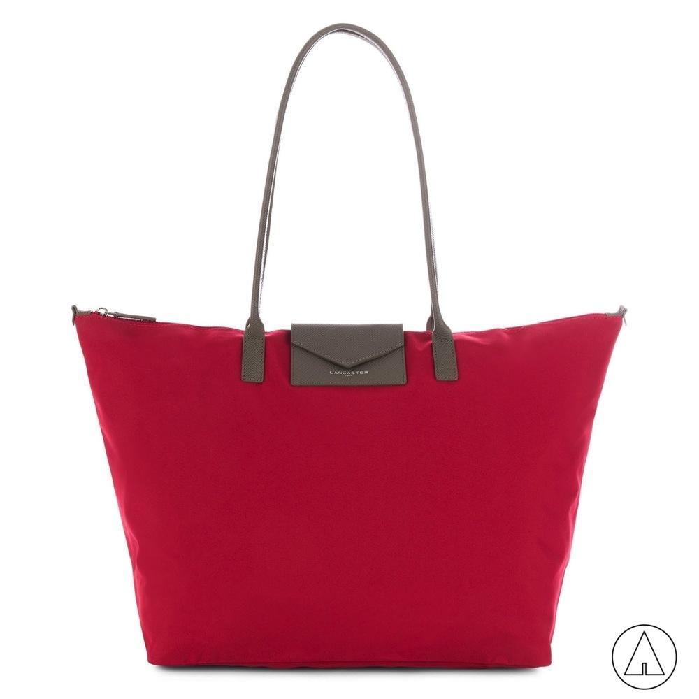LANCASTER •  XXL tote bag - Rouge