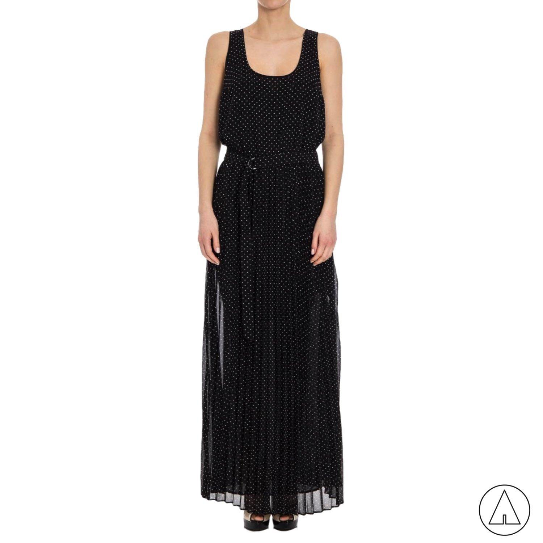 MICHAEL KORS • Tiny dots long dress - Black