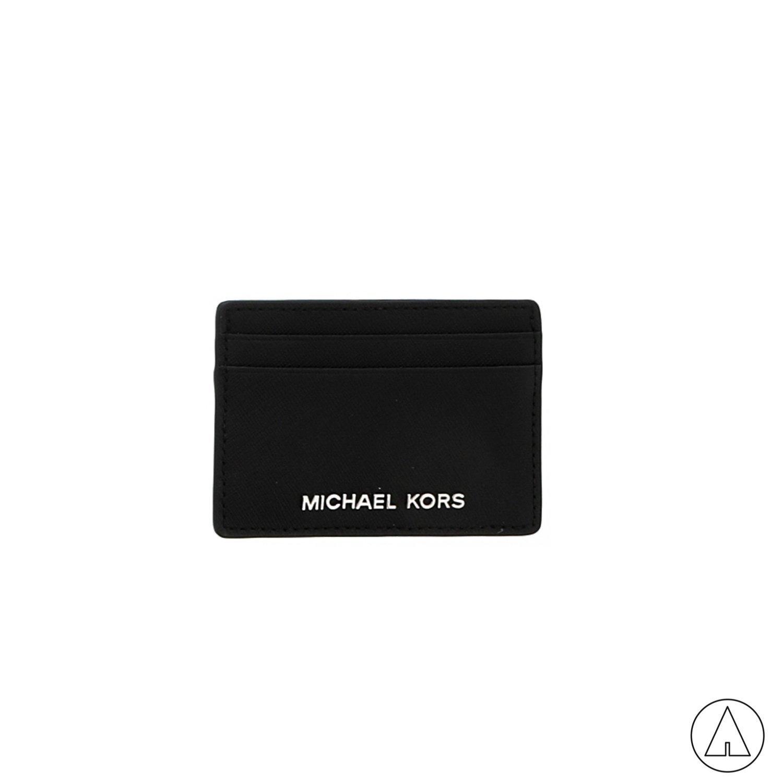 MICHAEL KORS • Jet Set Travel Card Holder - Black