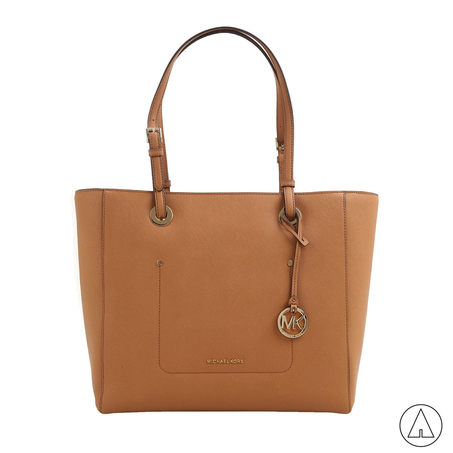 MICHAEL KORS • Walsh LG Top Zip Tote - Acorn