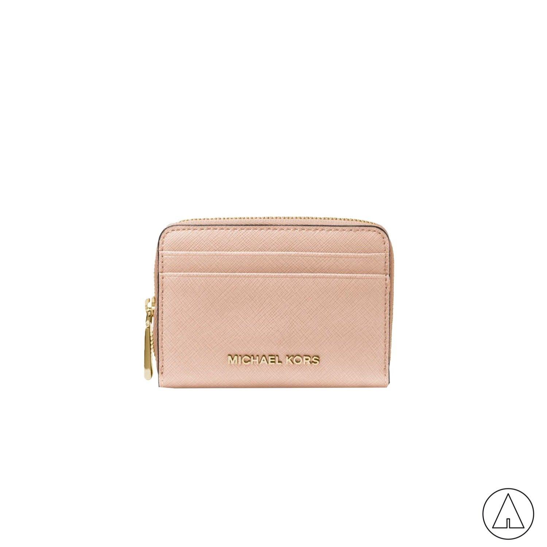 MICHAEL KORS • Jet Set Travel Card Money Pieces - Soft Pink