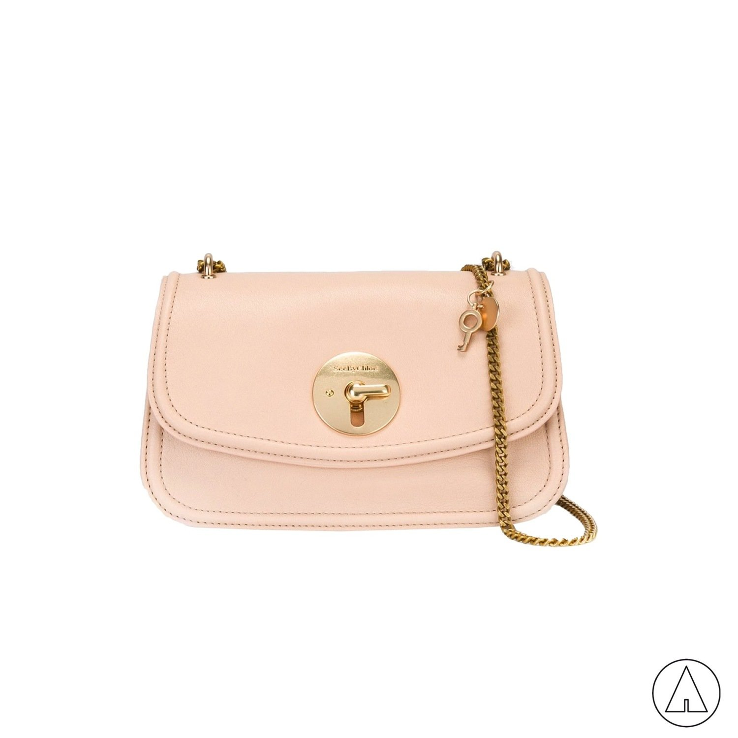 SEE BY CHLOÉ • Lois Shoulder Bag - Nude