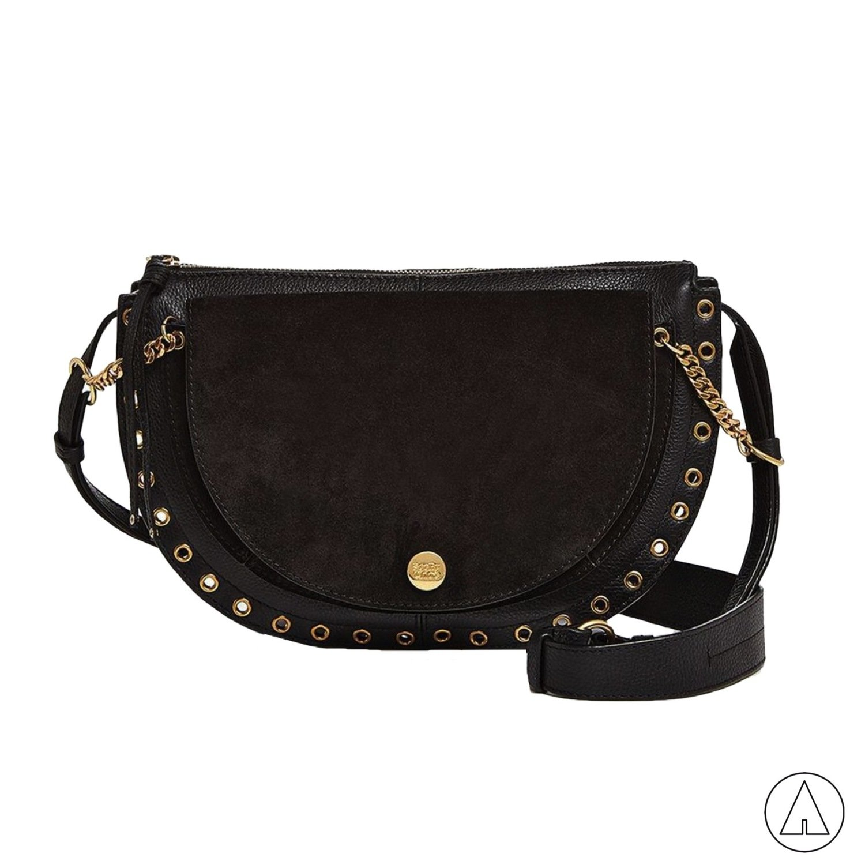 SEE BY CHLOÉ • Kriss Large Shoulder Bag - Black