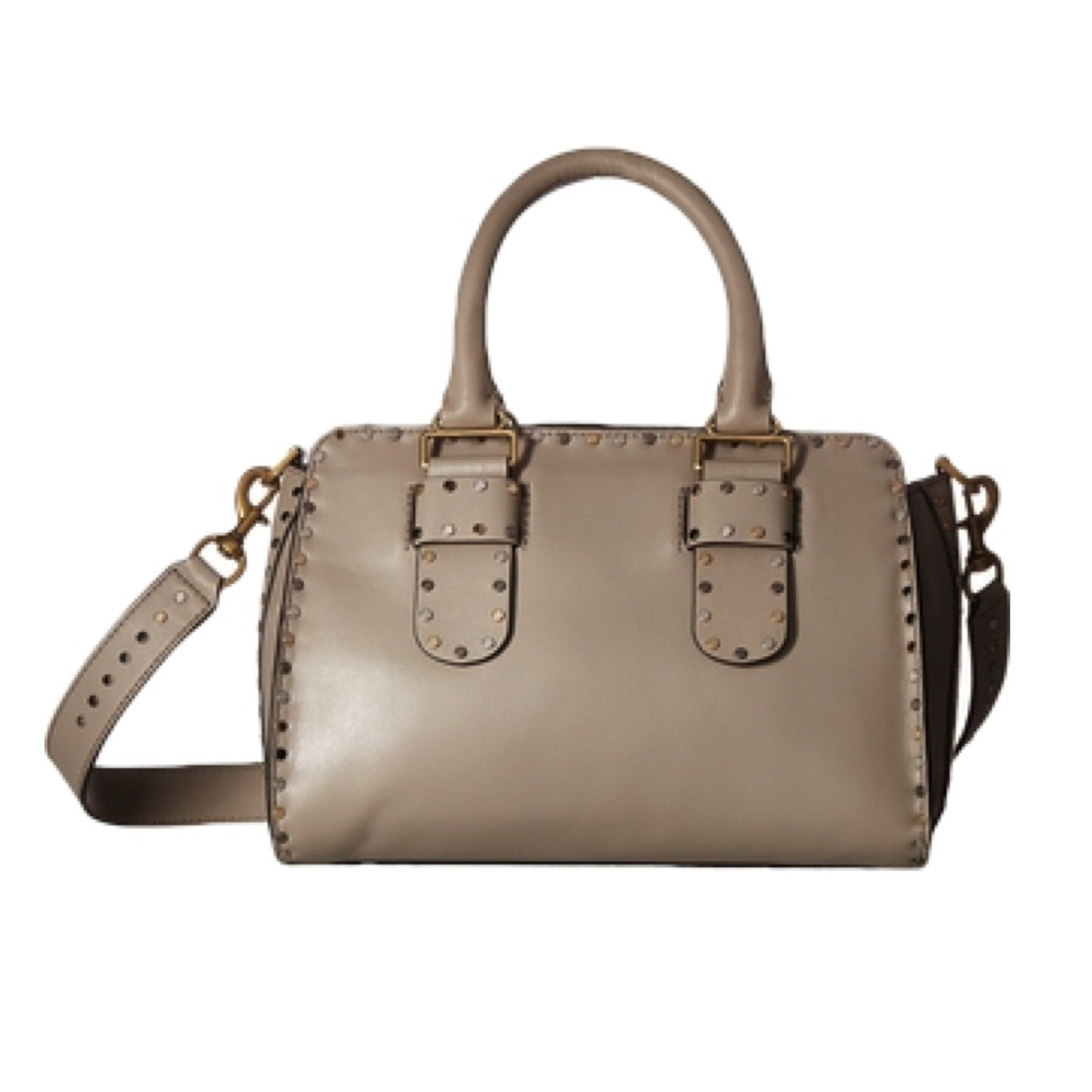 REBECCA MINKOFF • Midnighter Handbag  Large Satchel - Taupe