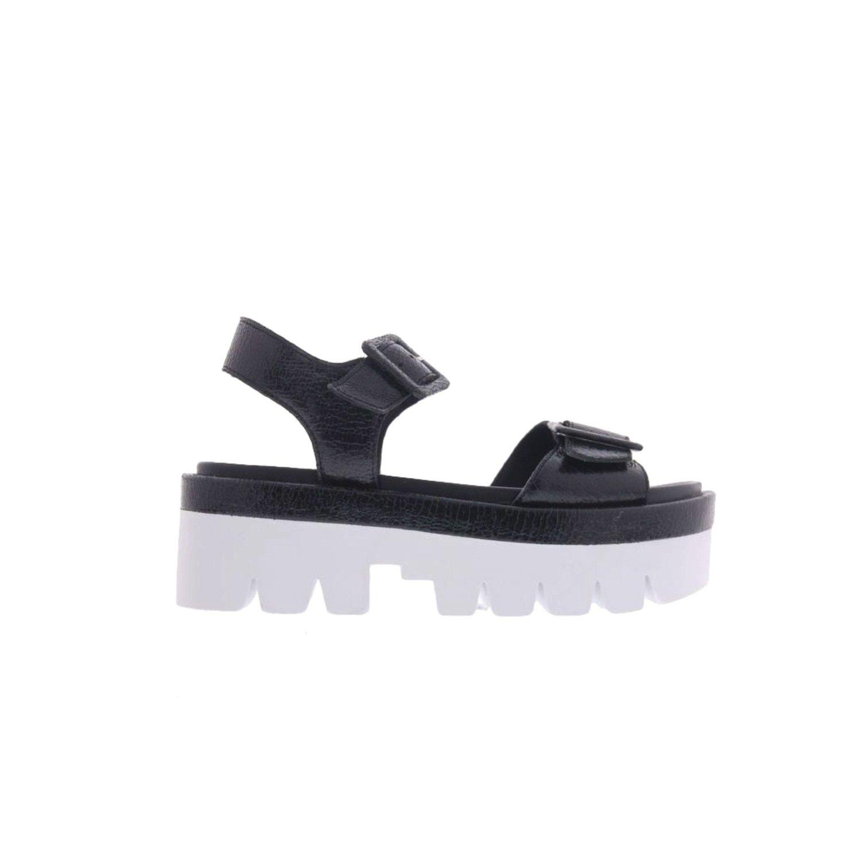 KENDALL+KYLIE - Wave sandalo con zeppa - Black
