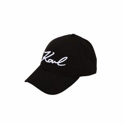 KARL LAGERFELD - K/Signature Cappello - Black
