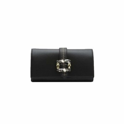 ERMANNO - Clutch Cora - Black