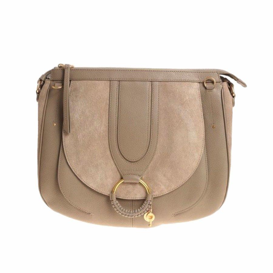 SEE BY CHLOÉ - Hana Large Crossbody Bag - Motty Grey