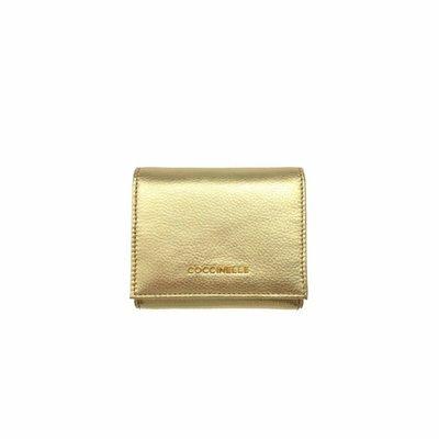 COCCINELLE • Metallic Soft Portafoglio piccolo - Platino