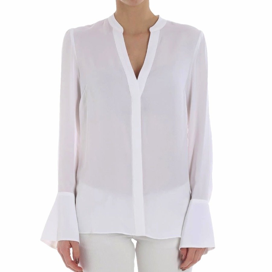 MICHAEL KORS • Camicia in seta - White