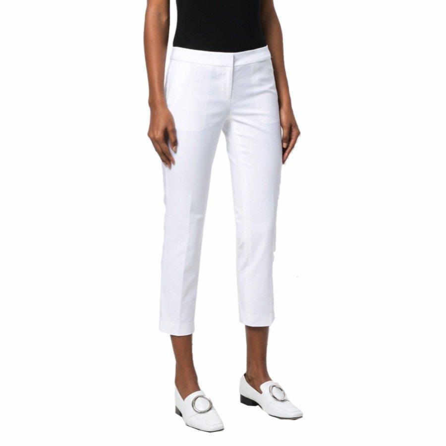 MICHAEL KORS - Pantaloni a sigaretta - White